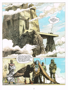 Extrait de Thorgal -6a1985'- La chute de Brek Zarith
