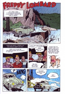 Extrait de Freddy Lombard (en anglais) -1- The Will of Godfrey of Bouillon / The Elephant Graveyard / The Comet of Carthage