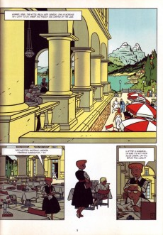 Extrait de Freddy Lombard (en anglais) -2- Holiday in Budapest / F.52