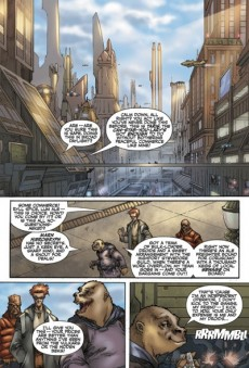 Extrait de Star Wars: Knights of the Old Republic (2006) -1- Issue 1