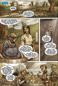 Extrait de Star Wars: Knights of the Old Republic (2006) -2- Issue 2