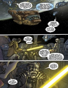Extrait de Star Wars: Knights of the Old Republic (2006) -4- Issue 4
