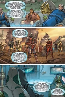 Extrait de Star Wars: Knights of the Old Republic (2006) -6- Issue 6