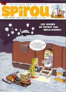 Extrait de (Recueil) Spirou (Album du journal) -321- Spirou album du journal