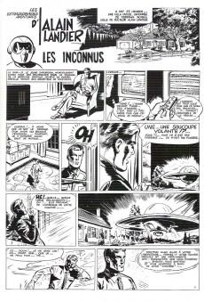 Extrait de Alain Landier (Les extraordinaires aventures d') -1+2 TT- Tomes 1 + 2