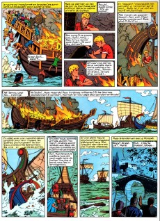 Extrait de Alix - La collection (Hachette) -5- La griffe noire