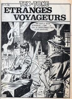Extrait de Tex-Tone -508- Étranges voyageurs