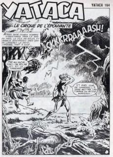 Extrait de Yataca (Fils-du-Soleil) -164- Le cirque de l'épouvante