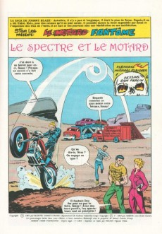 Extrait de Le motard fantôme -6- Le spectre et le motard