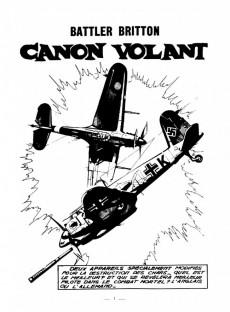Extrait de Battler Britton -183- Canon volant