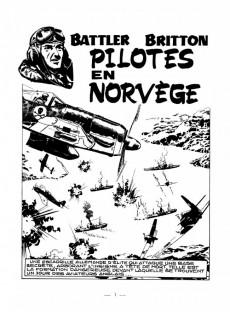 Extrait de Battler Britton -188- Pilotes en Norvège