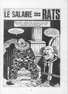 Extrait de Z33 agent secret -147- Le salaire des rats