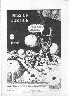 Extrait de Feu -21- Mission justice
