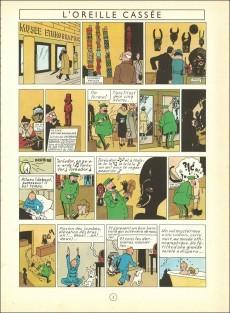 Extrait de Tintin (Historique) -6B25- L'oreille cassée