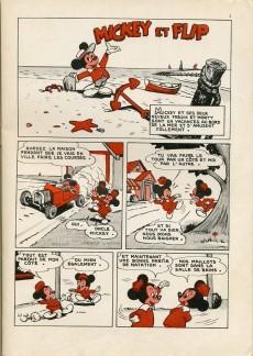 Extrait de Votre série Mickey (1re série) -3- Mickey et Flip