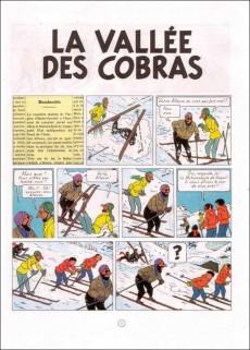 Extrait de Jo, Zette et Jocko (Les Aventures de) -5B32- La vallée des cobras