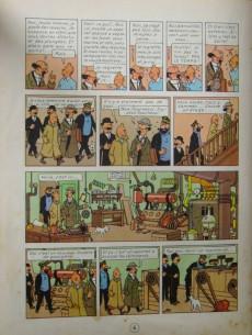 Extrait de Tintin (Historique) -12B09- Le trésor de Rackham Le Rouge