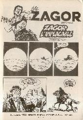 Extrait de Yuma (1re série) -345- Zagor l'implacable (1)