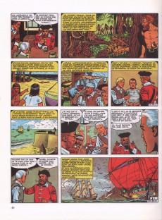 Extrait de Barbe-Rouge -7c1986- L'île de l'homme mort