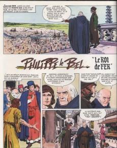 Extrait de Histoire de France en bandes dessinées (Intégrale) -3a- De saint-louis à jeanne d'arc