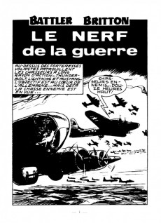 Extrait de Battler Britton -233- Le nerf de la guerre