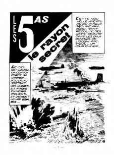 Extrait de Les 5 As -10- Le rayon secret