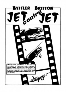 Extrait de Battler Britton (Imperia) -232- Jet contre jet
