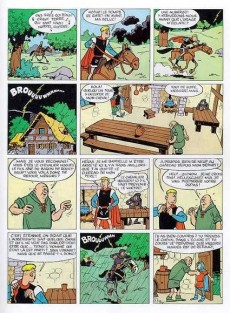 Extrait de Johan et Pirlouit -1c91- Le châtiment de basenhau
