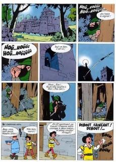 Extrait de Johan et Pirlouit -7e85- La flèche noire