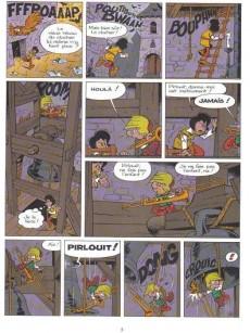 Extrait de Johan et Pirlouit -14Or'- La horde du corbeau