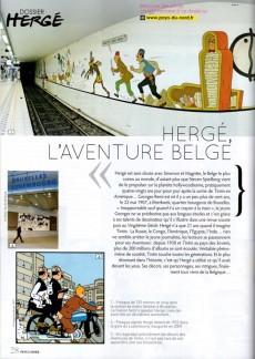Extrait de (AUT) Hergé -0- Hergé et la Belgique