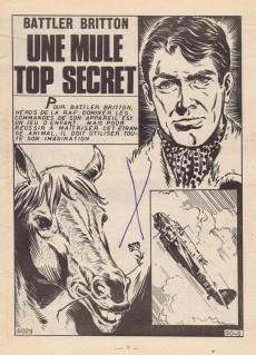 Extrait de Battler Britton -276- Une mule top secret