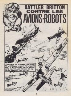 Extrait de Battler Britton -383- Contre les avions-robots
