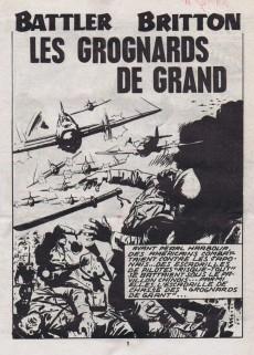 Extrait de Battler Britton -410- Les grognards du grand