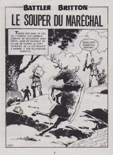 Extrait de Battler Britton -418- Le souper du Maréchal