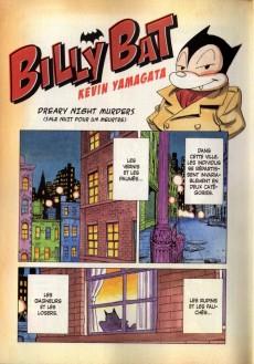 Extrait de Billy Bat -1- Volume 1