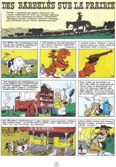 Extrait de Lucky Luke -29a67- Des barbelés sur la prairie