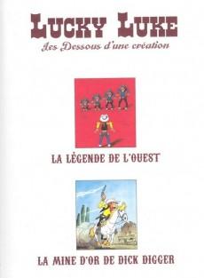 Extrait de Lucky Luke - Les Dessous d'une création (Atlas) -32- La légende de l'ouest - la mine d'or de dick digger