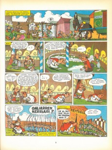 Extrait de Astérix (en langues étrangères) -5Basq- Asterix Galiako itzulian