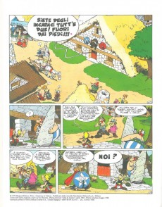 Extrait de Astérix (en italien) -16a1985- Asterix e gli elvezi
