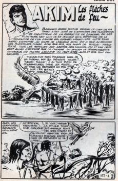 Extrait de Akim (1re série) -287- Les flèches de feu