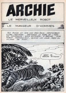 Extrait de Archie (Jeunesse et Vacances) -19- Le mangeur d'hommes