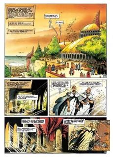 Extrait de Lanfeust de Troy -3b- Castel Or-Azur