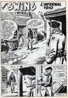 Extrait de Capt'ain Swing! (1re série) -213- Les ombres du passé