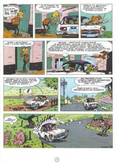 Extrait de Spirou et Fantasio -20d86- Le faiseur d'or