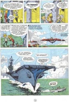 Extrait de Spirou et Fantasio -16d76- L'ombre du Z