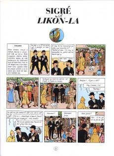 Extrait de Tintin (en langues régionales) -1112 Antilla- Sigré a Likòn-la & Trézò a Rakam Lèwouj