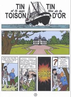 Extrait de Tintin - Pastiches, parodies & pirates -25c- Tintin et le mystère de la toison d'or