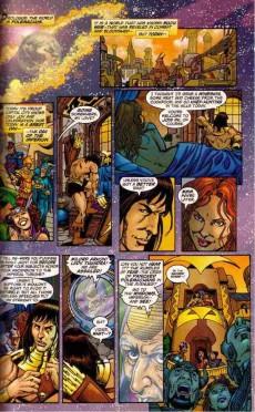 Extrait de JLA/Avengers (2003) -TPB- A journey into mystery