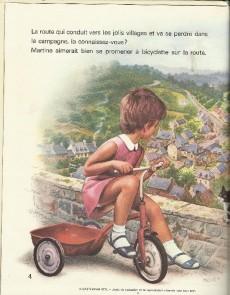 Extrait de Martine -21- Martine fait de la bicyclette